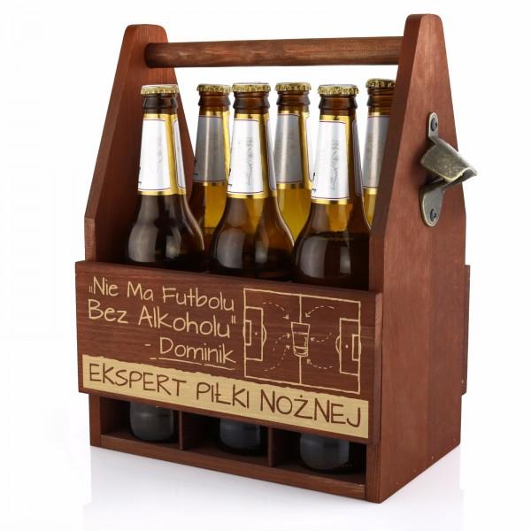 Nosidełko na piwo z otwieraczem na prezent dla mężczyzny