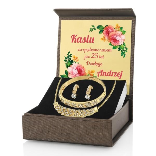 Biżuteria na prezent na rocznicę ślubu dla żony