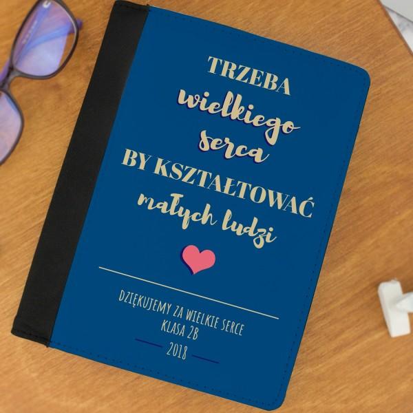 Spersonalizowany notatnik z imieniem na upominek na Dzień Nauczyciela